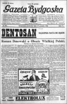 Gazeta Bydgoska 1926.12.19 R.5 nr 292