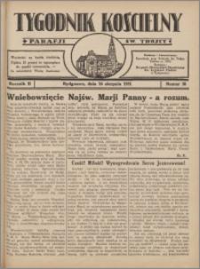 Tygodnik Kościelny Parafii św. Trójcy 1931.08.16 nr 30