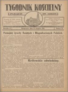Tygodnik Kościelny Parafii św. Trójcy 1931.08.23 nr 31