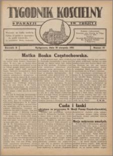 Tygodnik Kościelny Parafii św. Trójcy 1931.08.30 nr 32