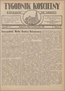 Tygodnik Kościelny Parafii św. Trójcy 1931.10.04 nr 37