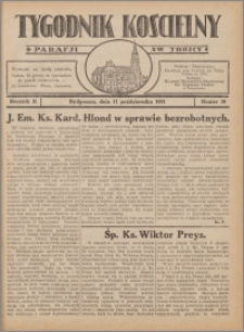 Tygodnik Kościelny Parafii św. Trójcy 1931.10.11 nr 38