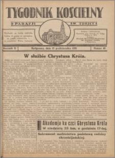 Tygodnik Kościelny Parafii św. Trójcy 1931.10.25 nr 40