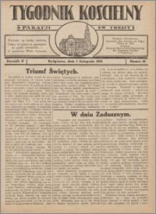Tygodnik Kościelny Parafii św. Trójcy 1931.11.01 nr 41