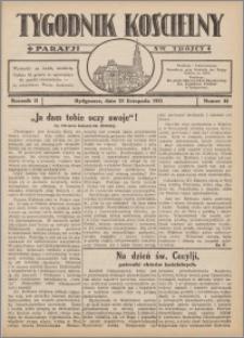 Tygodnik Kościelny Parafii św. Trójcy 1931.11.22 nr 44
