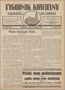 Tygodnik Kościelny Parafii św. Trójcy 1931.12.06 nr 46