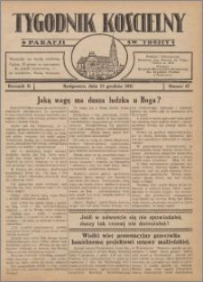 Tygodnik Kościelny Parafii św. Trójcy 1931.12.13 nr 47