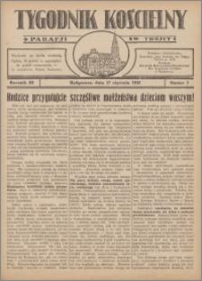 Tygodnik Kościelny Parafii św. Trójcy 1932.01.17 nr 3
