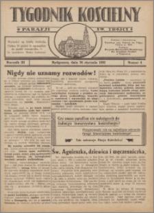Tygodnik Kościelny Parafii św. Trójcy 1932.01.24 nr 4