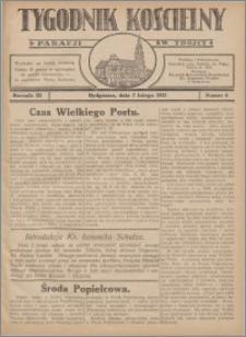 Tygodnik Kościelny Parafii św. Trójcy 1932.02.07 nr 6