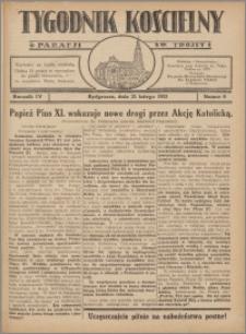 Tygodnik Kościelny Parafii św. Trójcy 1932.02.21 nr 8