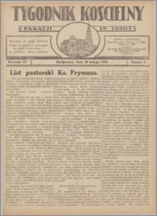 Tygodnik Kościelny Parafii św. Trójcy 1932.02.28 nr 9