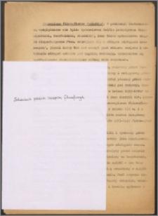 Hasła biograficzne do Słownika Filozofii w Polsce i do Polskiego Słownika Biograficznego