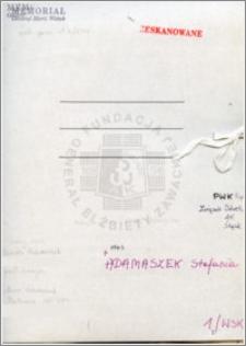 Adamszek Stefania