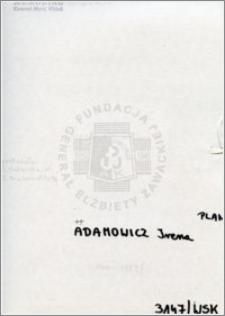 Adamowicz Irena