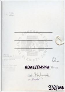 Adaszewska Anna