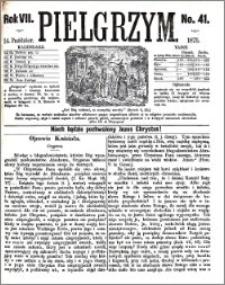 Pielgrzym, pismo religijne dla ludu 1875 nr 41