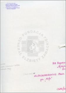 Aleksandrowicz Maria