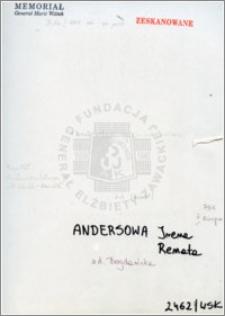 Andersowa Irena