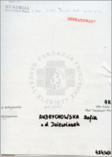 Andrychowska Zofia