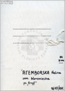 Atemborska Halina