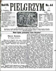 Pielgrzym, pismo religijne dla ludu 1875 nr 44
