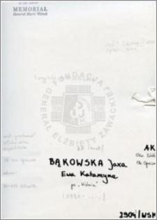Bąkowska Jaxa
