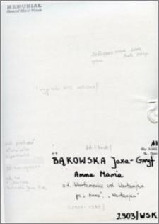 Bąkowska Jaxa-Gryf