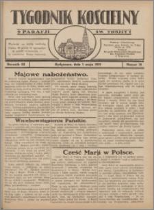 Tygodnik Kościelny Parafii św. Trójcy 1932.05.01 nr 18