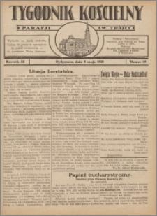 Tygodnik Kościelny Parafii św. Trójcy 1932.05.08 nr 19