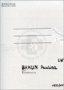 Bakun Paulina