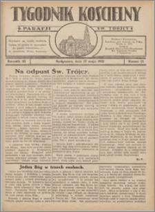 Tygodnik Kościelny Parafii św. Trójcy 1932.05.22 nr 21