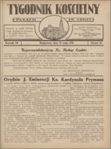 Tygodnik Kościelny Parafii św. Trójcy 1932.05.29 nr 22