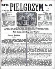 Pielgrzym, pismo religijne dla ludu 1875 nr 45