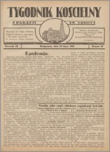 Tygodnik Kościelny Parafii św. Trójcy 1932.07.24 nr 30