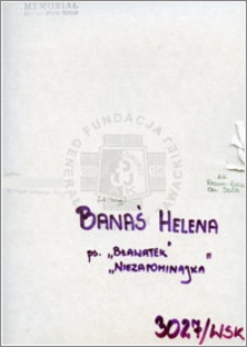 Banaś Helena