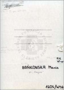 Bańkowska Maria