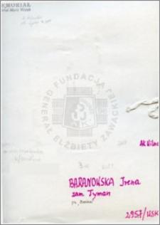 Baranowska Irena
