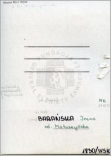 Barańska Irena