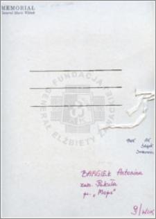 Bargiel Antonina