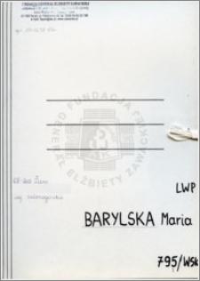Barylska Maria