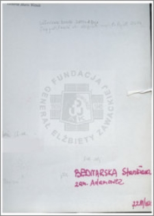Bednarska Stanisława