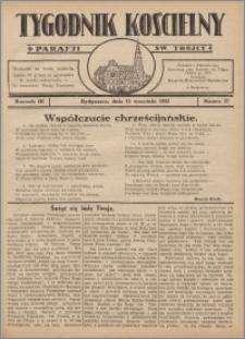 Tygodnik Kościelny Parafii św. Trójcy 1932.09.11 nr 37