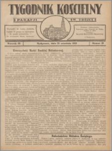 Tygodnik Kościelny Parafii św. Trójcy 1932.09.25 nr 39