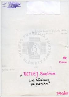 Betlej Bronisława