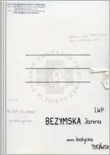 Bezymska Janina