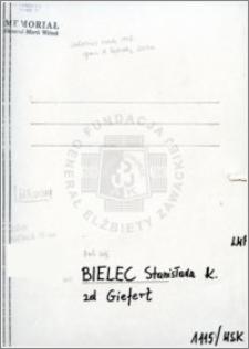 Bielecka Stanisława