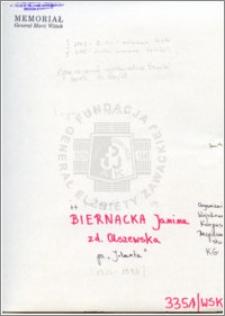 Biernacka Janina