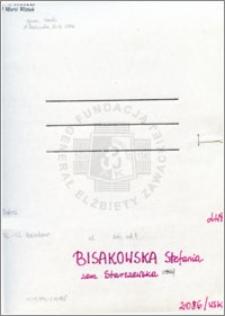 Bisakowska Stefania