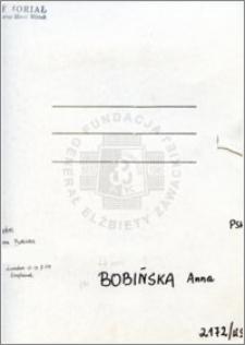 Bobińska Anna